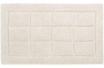Schöner Wohnen Badteppich Santorin D. 003 C. 000 Kacheln weiß
