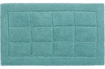 Schöner Wohnen Badteppich Santorin D. 003 C. 023 Kacheln hellblau