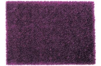 Schöner Wohnen Hochflor-Teppich, Feeling, violett, 55 mm Florhöhe