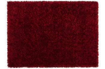 Schöner Wohnen Hochflor-Teppich, Feeling, rot, 55 mm Florhöhe