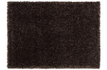 Schöner Wohnen Hochflor-Teppich, Feeling, toffee, 55 mm Florhöhe
