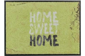 Schöner Wohnen Fussmatte Broadway Home Sweet Home grün