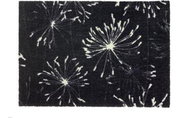 Schöner Wohnen Fußmatte Manhattan Design 001, Farbe 044 Pusteblume anthrazit-mint