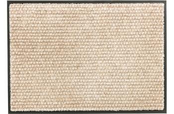 Schöner Wohnen Fußmatte Miami Design 002, Farbe 006 Punkte beige 50 x 70 cm