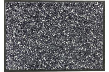 Schöner Wohnen Fußmatte Miami Design 004, Farbe 044 Mezzopoint anthrazit-grau