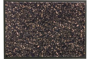Schöner Wohnen Fußmatte Miami Design 004, Farbe 046 Mezzopoint anthrazit-apricot