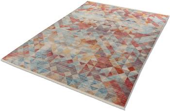 Schöner Wohnen Kollektion Schöner Wohnen Teppich Mystik D.211 C.099 Dreiecke bunt