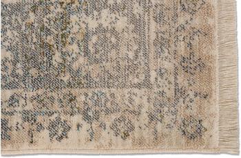 Schöner Wohnen Kollektion Schöner Wohnen Teppich Mystik D.216 C.006 Bordüre grau/ creme