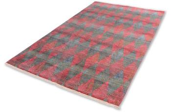 Schöner Wohnen Kollektion Teppich Mystik D.213 C.099 Harlequin rot/ grün