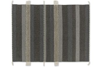 Schöner Wohnen Teppich Botana D. 192 C. 040 Streifen d.grau/ beige