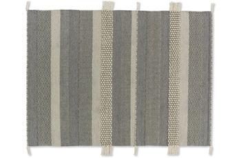 Schöner Wohnen Teppich Botana D. 192 C. 045 Streifen beige/ grau