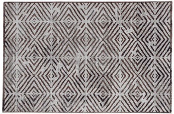 Schöner Wohnen Teppich Brilliance Design 182, Farbe 017 Raute lila