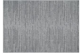 Schöner Wohnen Teppich Enjoy D.203 C.004 silber/ anthrazit Streifen 160x230 cm