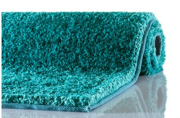 Schöner Wohnen Teppich New Elegance Design 170, Farbe 024 türkis 90 x 160 cm