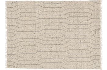 Schöner Wohnen Teppich Sense Design 181, Farbe 004 silber