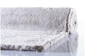 Schöner Wohnen Teppich Tender Design 180 Farbe 004 silber 120 cm rund