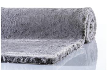 Schöner Wohnen Teppich Tender Design 180 Farbe 040 grau 120 cm rund