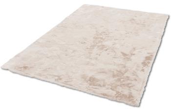 Schöner Wohnen Teppich Tender Design 190 Farbe 003 creme 120 cm rund