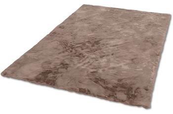 Schöner Wohnen Teppich Tender Design 190 Farbe 006 cappuccino 120 cm rund