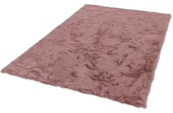 Schöner Wohnen Teppich Tender Design 190 Farbe 011 altrosa 120 cm rund