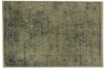 Schöner Wohnen Teppich Velvet D.194 C.035 olivgrün 160x230 cm