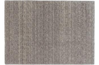 Schöner Wohnen Teppich Victoria Deluxe Design 170, Farbe 005 mittelgrau/ grau
