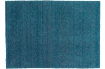 Schöner Wohnen Teppich Victoria Deluxe Design 170, Farbe 025 türkis/ grau