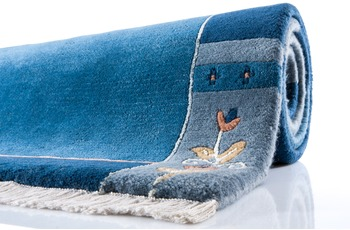 Shiva excl. - Teppich - 2203 blau 170 cm x 240 cm