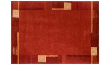 Shiva excl. - Teppich - 302 kupfer 200 cm x 200 cm