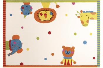 Sigikid Kinder-Teppich Animal Festival SK-0525-01 weiss 120 x 170 cm