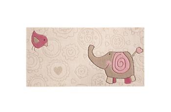 Sigikid Kinder Teppich, Happy Zoo, Elephant SK-3342kl beige