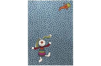 Sigikid Teppich, Rainbow Rabbit, SK-0523-01 blau