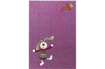 Sigikid Kinderteppich Rainbow Rabbit SK-0523-03 pink