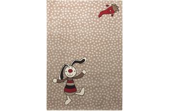 Sigikid Kinder-Teppich Rainbow Rabbit SK-0523-04 beige 80 x 150 cm