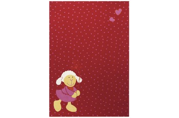 Sigikid Kinder-Teppich, Schnuggi SK-0524-05 rot