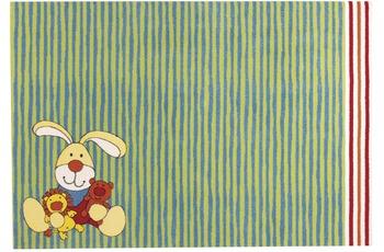 Sigikid Kinder-Teppich Semmel Hase /  Bunny SK-0527-02 grün 120 x 170 cm