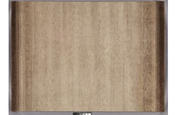 Tadj, Gabbeh Teppich, 2902 braun, handgeknüpft mit argentinischer Schurwolle