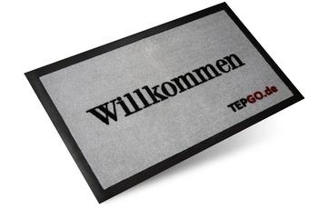 "TEPGO Fussmatte, Schmutzfangmatte ""Willkommen"""
