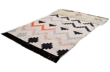 THEKO Handwebteppich Beni Ourain Nomadic-Design multicolor