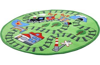 THEKO Kindergarten MH-4075-01 300 grün 160 cm x 160 cm rund