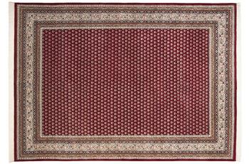 THEKO Teppich Abbas Meraj Mir 562 rot /  creme 90 x 160 cm