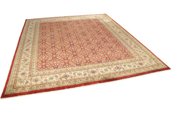 THEKO Teppich Antico M19 all o red 250 x 300 cm