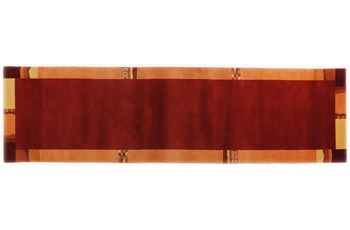 THEKO Nepalteppich Avanti TK-02 201 rot 80 x 200 cm