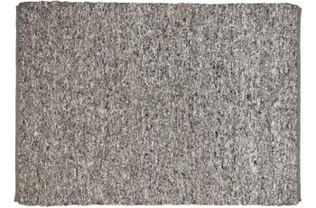 THEKO Handwebteppich Berberina Super uni 655 grau multi 60 x 90 cm