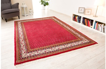 Oriental Collection Mir Teppich Chandi 562 rot /  creme 70 x 140 cm