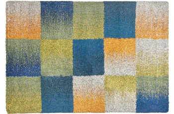 THEKO Teppich Color Shag 114 800 multicolor