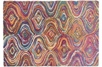 THEKO Teppich Color Shag 1522 800 multicolor