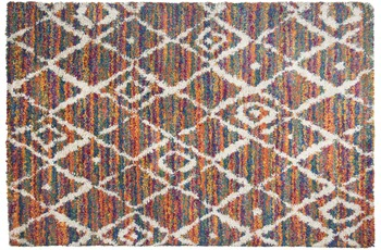 THEKO Teppich Color Shag 621 800 multicolor 57 x 90 cm