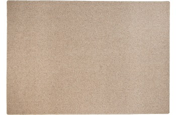 THEKO Teppich Douro UNI 500 braun 80 x 270 cm