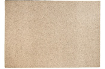 THEKO Teppich Douro UNI 506 hellbraun 80 x 270 cm